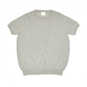 Pointelle T-Shirt, Light Grey, FUB Woman