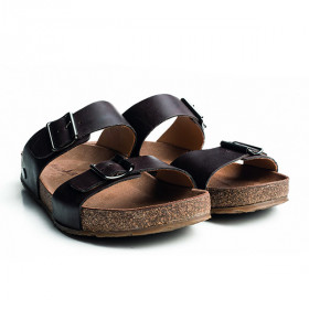Sandal Andrea, Dark Brown, Haflinger