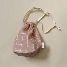 Multi Bag, Lille, Check Terracotta, Haps Nordic