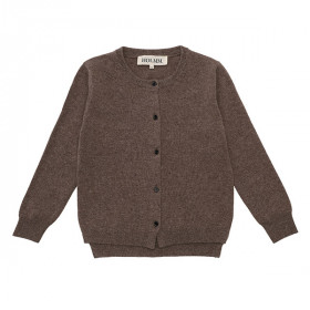 Molly Junior Cardigan, Cashmere, Yak Melange, HOLMM.