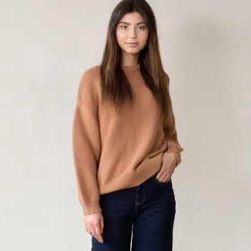 Mist Strik Sweater, Nude, I dig denim Woman