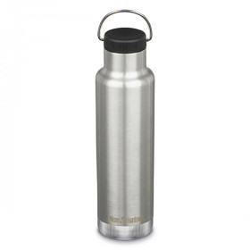 Insulated Classic Loop Cap , Brushed Stainless, Klean Kanteen