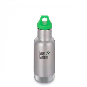 Classic Insulated, 355 ml, Brushed Stainless, Klean Kanteen