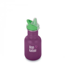 Drikkedunk Sippy Cap, 355 ml, Winter Plum, Klean Kanteen