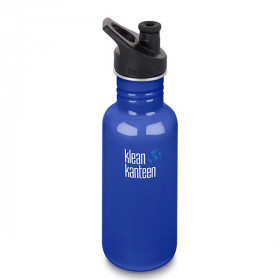 Drikkedunk Sports Cap, 532 ml., Coastal Waters, Klean Kanteen