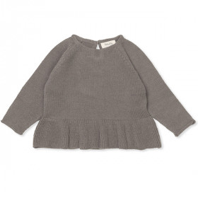 Ava Jumper, Cashmere, Brown, Lalaby
