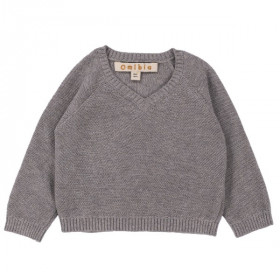 Lawson Sweater, Smoke Grey, Omibia