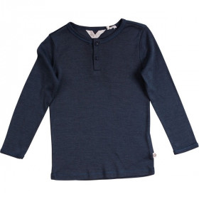 T-shirt Boy Woolly Silk, Midnight, Müsli