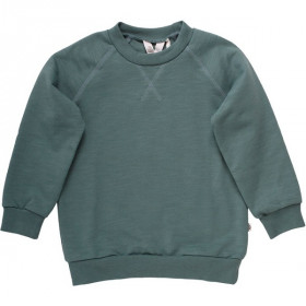 Slub Sweatshirt, Dream Green, Müsli
