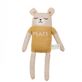 """Peace"" Teddy Bamse, Main Sauvage"