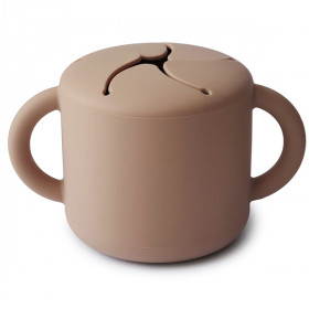 Snack Cup, Natural, Mushie
