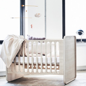 Milky Sleeper Baby Seng, Hvid, Ollie|s|Out