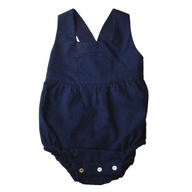 Romper Royal, Steel Blue, Omibia
