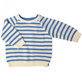 Stribet Bluse, Blue Strib, Selana