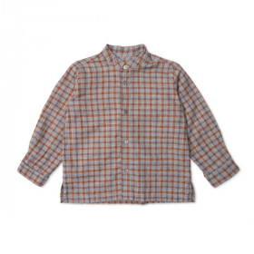 Baby Willy Shirt, Grey Check, Lalaby