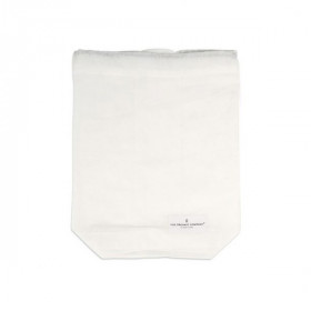 Food Bag Medium, White, The Organic Company
