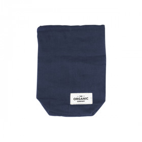 Food Bag Small, Dark Blue, The Organic Company