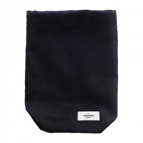 Food Bag Medium, Black, The Organic Company