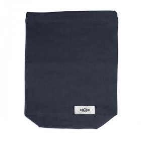 Food Bag Medium, Dark Blue, The Organic Company