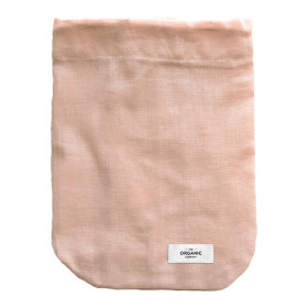 Food Bag Medium, Pale Rose, The Organic Company