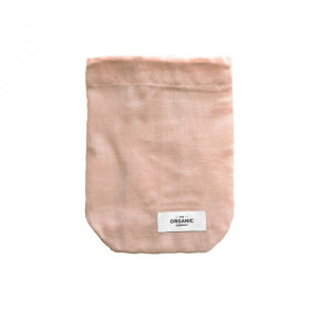 Food Bag Small, Pale Rose, The Organic Company