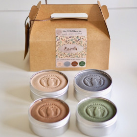 Earth Set Scent, 4 Pak., The Wild Hearts