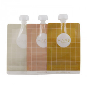 Smoothie Bags 3 Pak, Warm Color, Haps Nordic