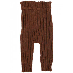 Rib Leggings, Alpaca, Rust, Serendipity