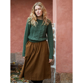 Pocket Skirt, Walnut, Serendipity Woman