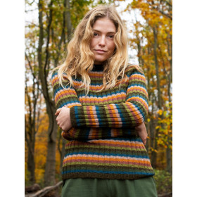 Rainbow Sweater, Alpaca, Serendipity Woman