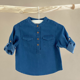 Willy Shirt, Denim Blue, Odieé