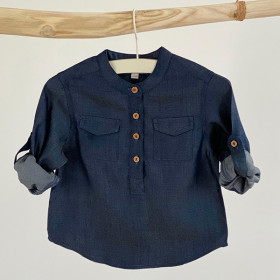 Willy Shirt, Denim Silk, Odieé